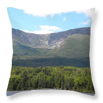 Mt. Katahdin Throw Pillow
