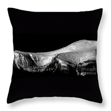 Mt Washington And Tuckerman Ravine Throw Pillow