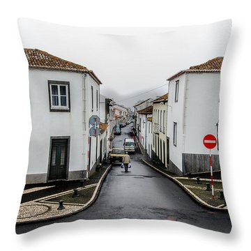 Municipality Of Ribeira Grande Throw Pillow