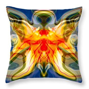 My Angel Throw Pillow by Omaste Witkowski