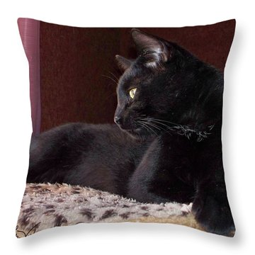 My Boy Charlie Throw Pillow