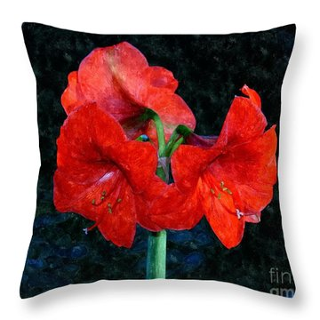 Naked Belladonna Throw Pillow