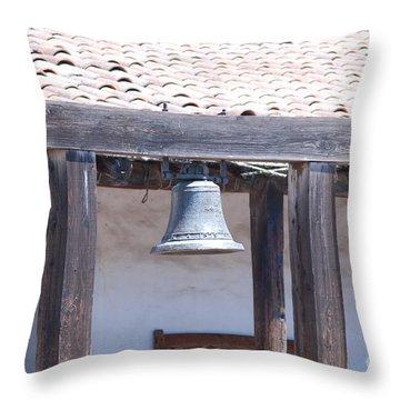Napa Bell Throw Pillow by George Mount