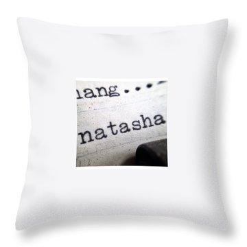 Typewriter Throw Pillows