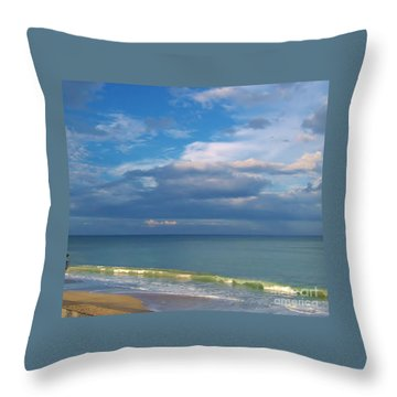Natures Beauty Throw Pillow by D Hackett