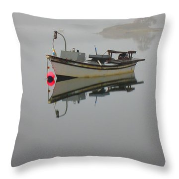 New Hampshire Sea Coast  Throw Pillow