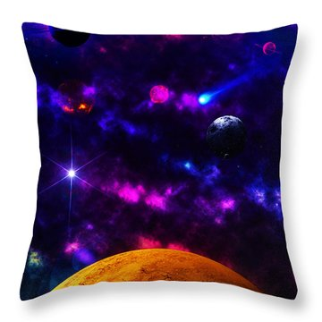New Life  Throw Pillow by Naomi Burgess