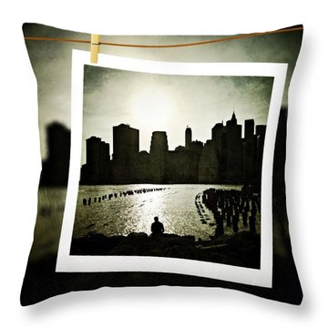New York In June Throw Pillow