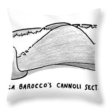 New Yorker November 30th, 1992 Throw Pillow