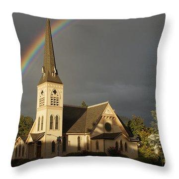 Newman United Methodist Church Throw Pillow