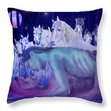 Parallel Universe Throw Pillow