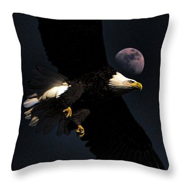 Throw Pillow featuring the photograph Night Moves by John Freidenberg