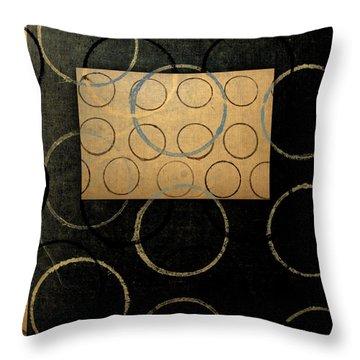 No Coasters Throw Pillow by Carol Leigh