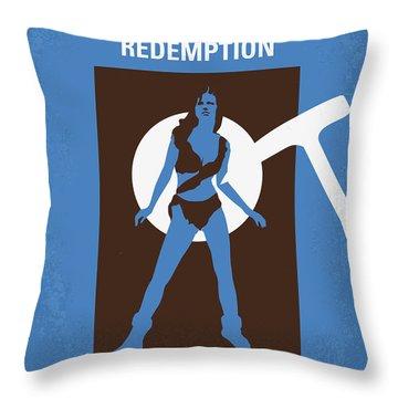 No246 My The Shawshank Redemption Minimal Movie Poster Throw Pillow