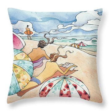 Noosa Ninnies Throw Pillow