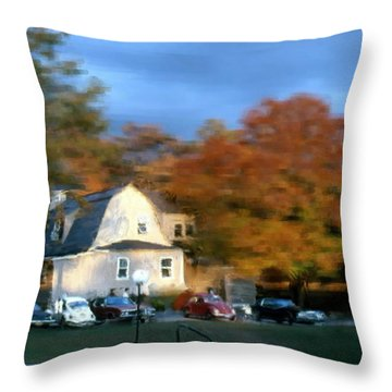 Northeastern Bible College Throw Pillow by Bruce Nutting