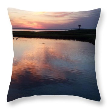 Ocean City Md  Throw Pillow