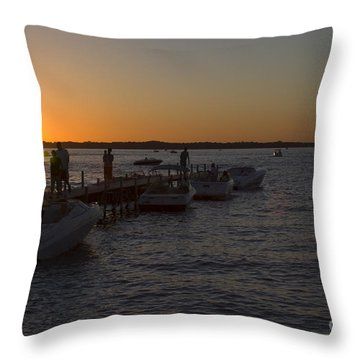Okoboji Nights Throw Pillow