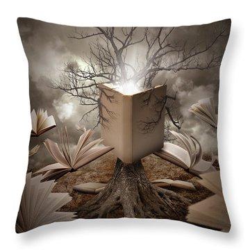 Knowledge Throw Pillows