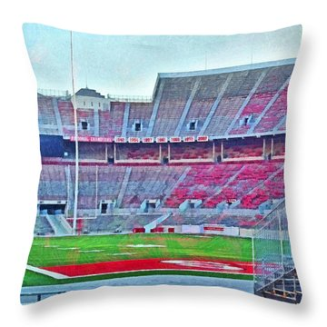 On Hallowed Ground Throw Pillow