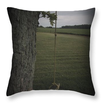 Once Upon A Time Throw Pillow by Cynthia Lassiter