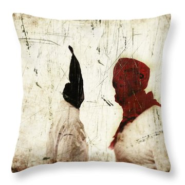 One Of These Days Throw Pillow