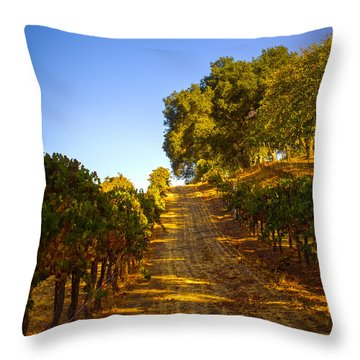 Opolo Winery Throw Pillow