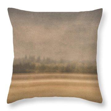 Oregon Rain Throw Pillow
