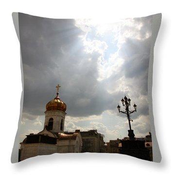 Orthodox Church  Throw Pillow by Lali Kacharava