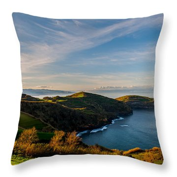 Out Bond To The Sea Throw Pillow