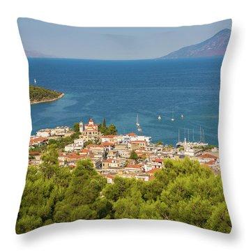 Palaia Epidavros Also Known As Archaia Throw Pillow