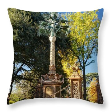 Palmetto Regiment Monument  Throw Pillow