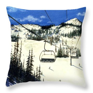 Paradise Bowl Throw Pillow by Barbara Jewell