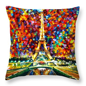 Leonid Throw Pillows
