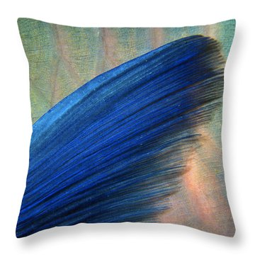 Parrotfish Throw Pillow