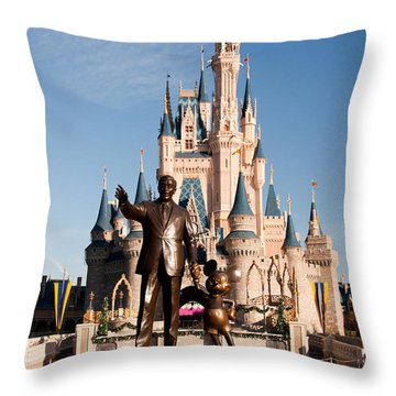 Partners 2 Throw Pillow