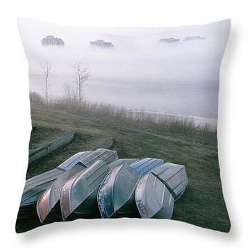 Throw Pillow featuring the photograph Patiently Waiting by David Porteus