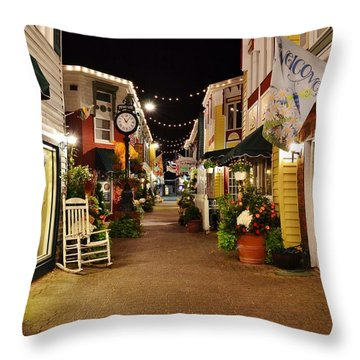 Penny Lane - Rehoboth Beach Delaware Throw Pillow