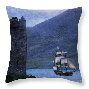 Petitioning The Queen Throw Pillow