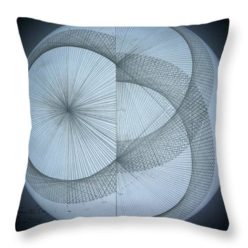 Photon Double Slit Test Throw Pillow by Jason Padgett