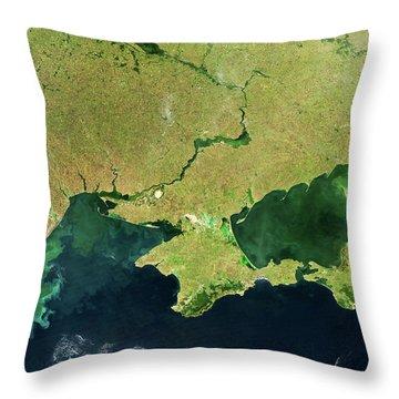 Dnieper Throw Pillows