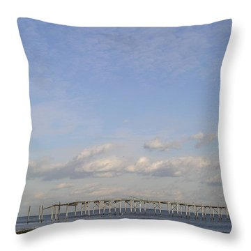 Pier Wave Throw Pillow