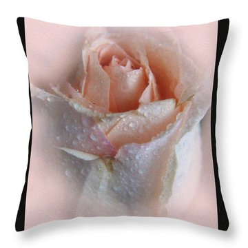 Pink Rose2 Throw Pillow