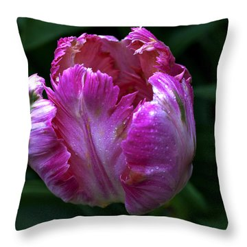 Pinklette Throw Pillow