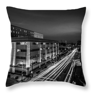 Plankington Streaks Throw Pillow