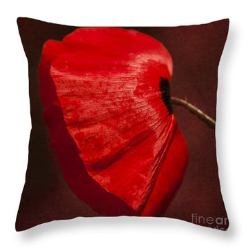 Poppy Throw Pillow by Svetlana Sewell