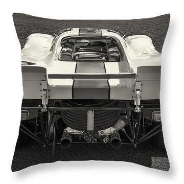 Porsche 917k Throw Pillow by Dennis Hedberg