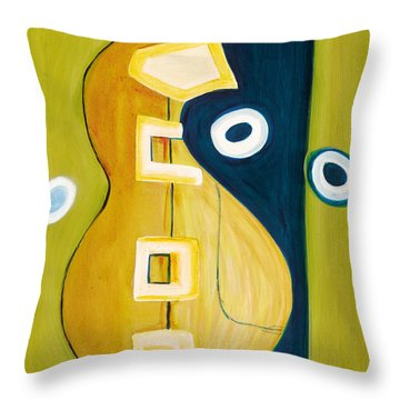 Portrait Of A Humble Man 4 Throw Pillow