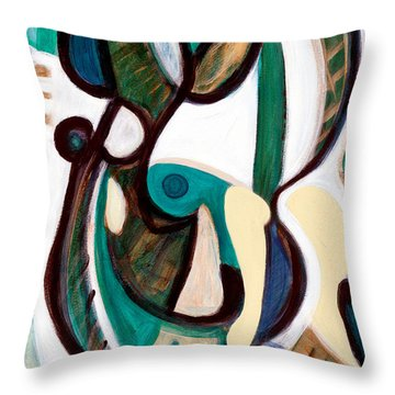 Portrait Of My Innocence Throw Pillow
