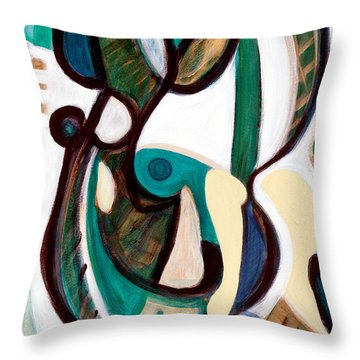 Portrait Of My Innocence Throw Pillow by Stephen Lucas